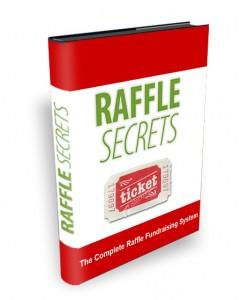 Raffle fundraising book